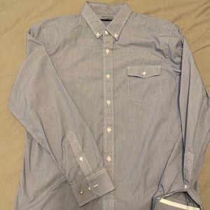 Men's Rhone Commuter Long Sleeve Button Up Large